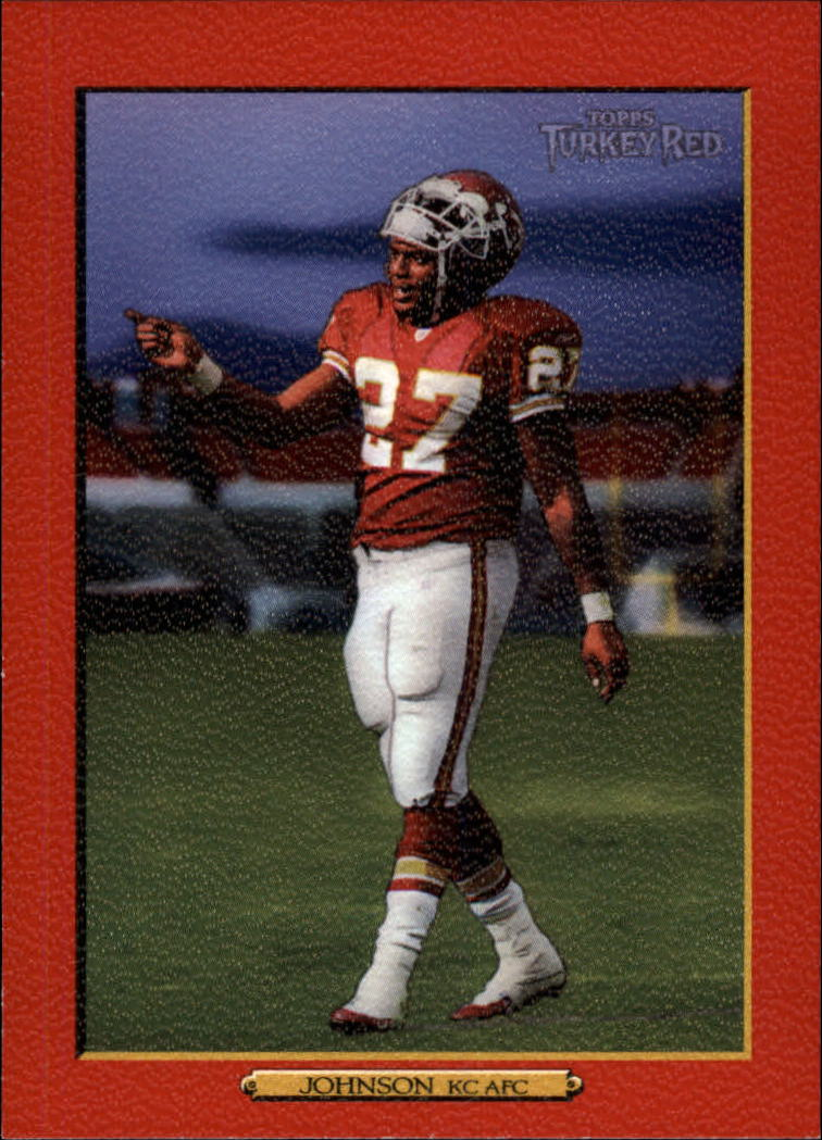 2006 Topps Turkey Red Red #308A Larry Johnson/(purple sky)