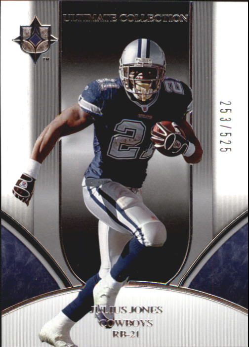 2006 Ultimate Collection #50 Julius Jones
