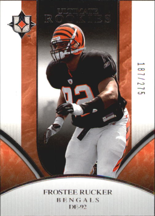2006 Ultimate Collection #310 Frostee Rucker RC