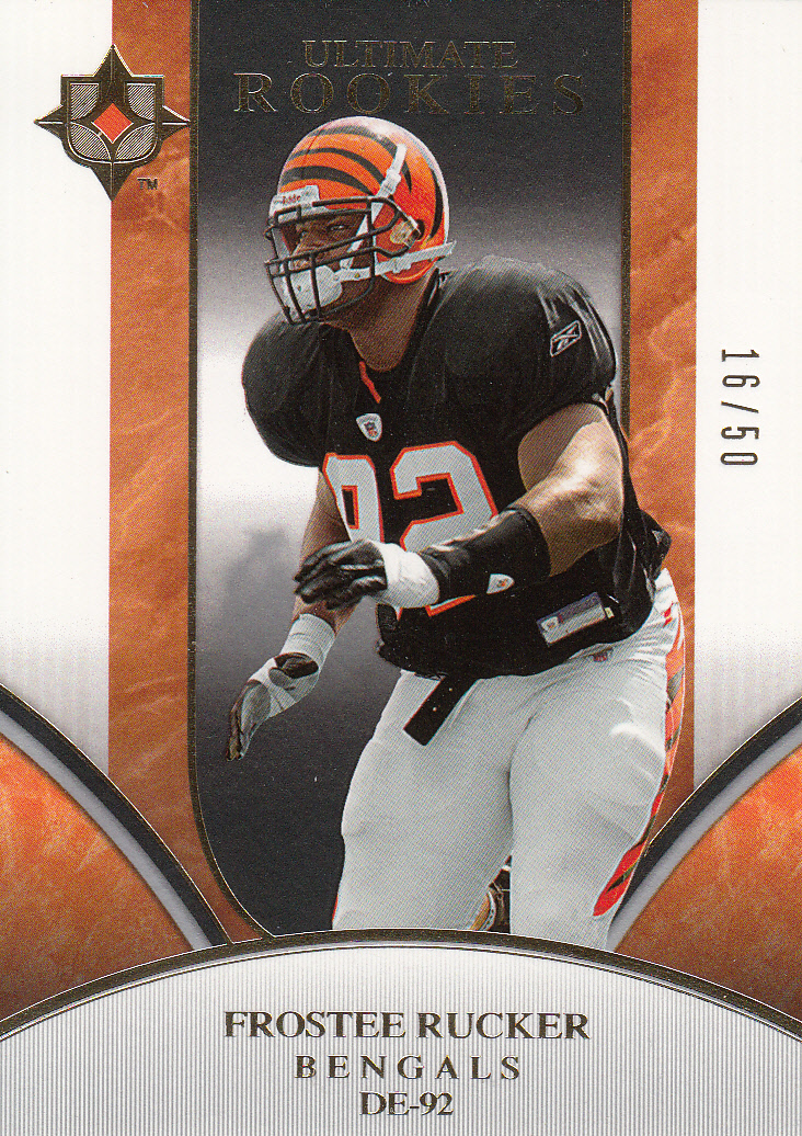 2006 Ultimate Collection Gold #310 Frostee Rucker