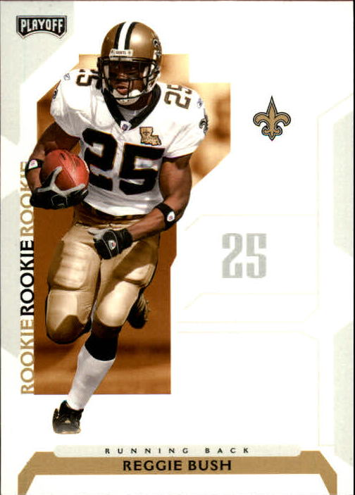 2006 Playoff NFL Playoffs #71 Reggie Bush RC