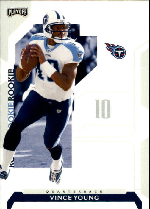 2006 Playoff NFL Playoffs #73 Vince Young RC