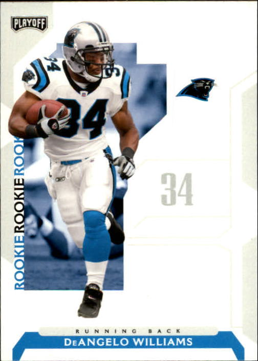 2006 Playoff NFL Playoffs #75 DeAngelo Williams RC