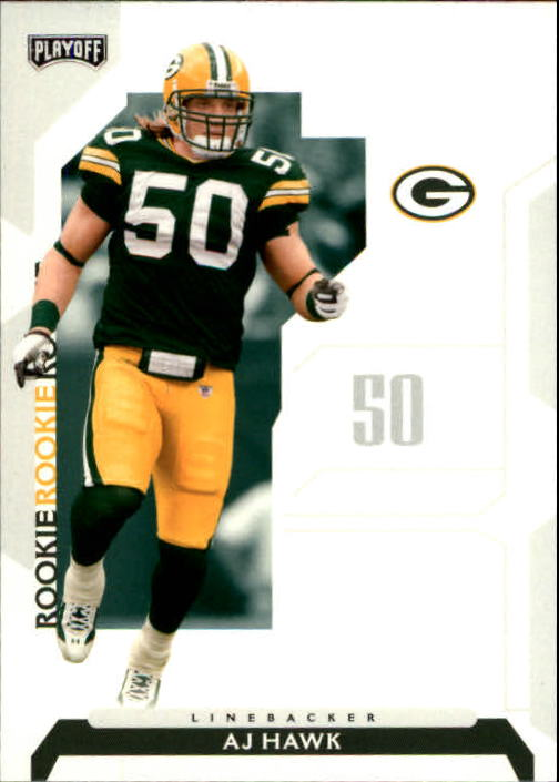 2006 Playoff NFL Playoffs #82 A.J. Hawk RC front image