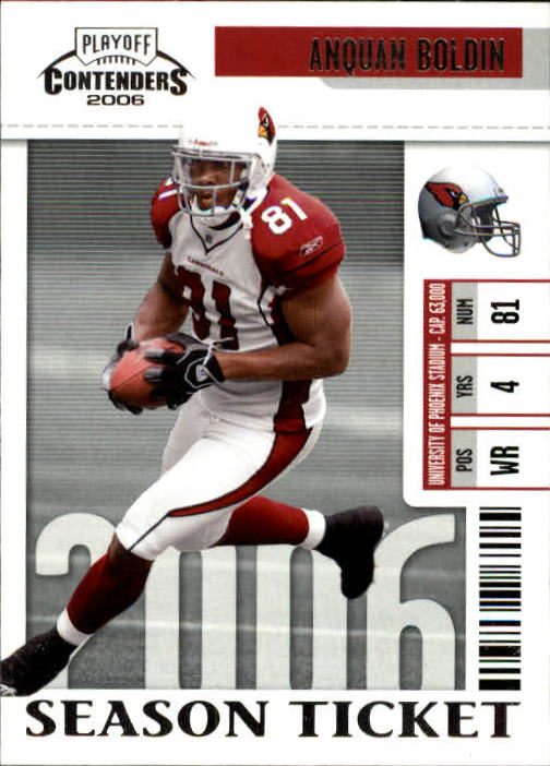 2006 Playoff Contenders #1 Anquan Boldin