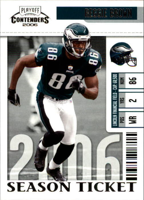 2006 Playoff Contenders #74 Reggie Brown