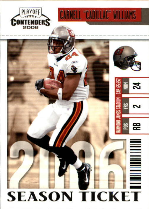 2006 Playoff Contenders #92 Cadillac Williams