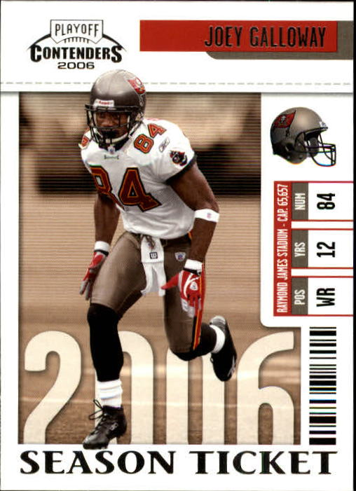 2006 Playoff Contenders #94 Joey Galloway