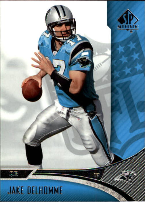 2006 SP Authentic #12 Jake Delhomme
