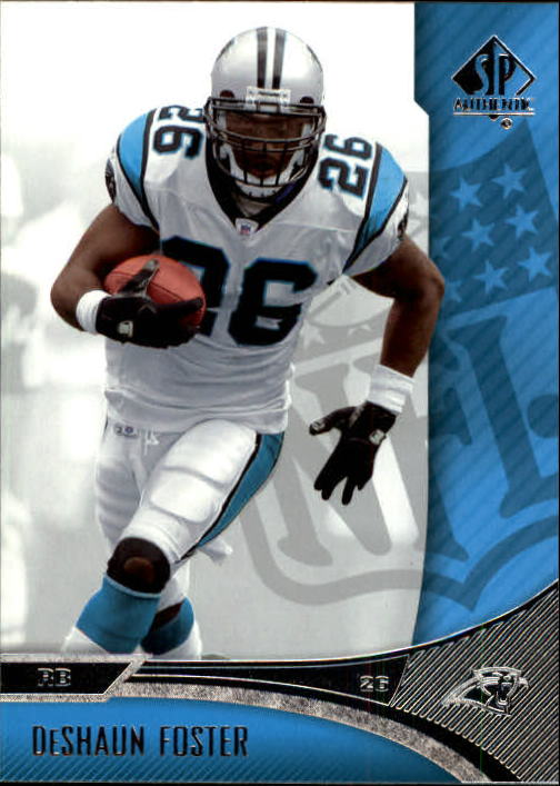 2006 SP Authentic #14 DeShaun Foster