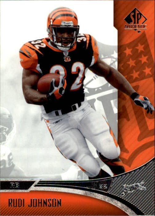 2006 SP Authentic #20 Rudi Johnson