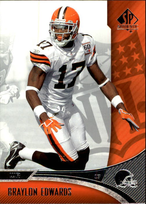 2006 SP Authentic #22 Braylon Edwards