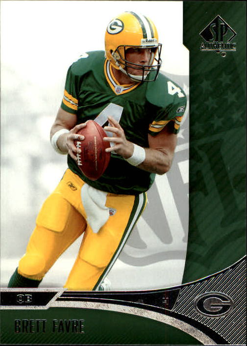 2006 SP Authentic #32 Brett Favre