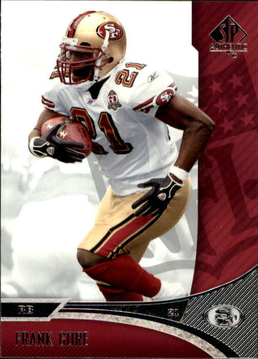2006 SP Authentic #74 Frank Gore