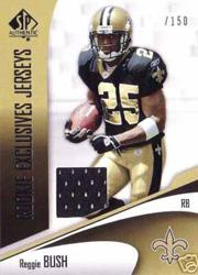 2006 SP Authentic Rookie Exclusives Jerseys #REJRB Reggie Bush
