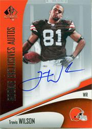 2006 SP Authentic Rookie Exclusives Autographs #REATW Travis Wilson