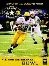 2005 High School Army All-American #4 Adrian Peterson