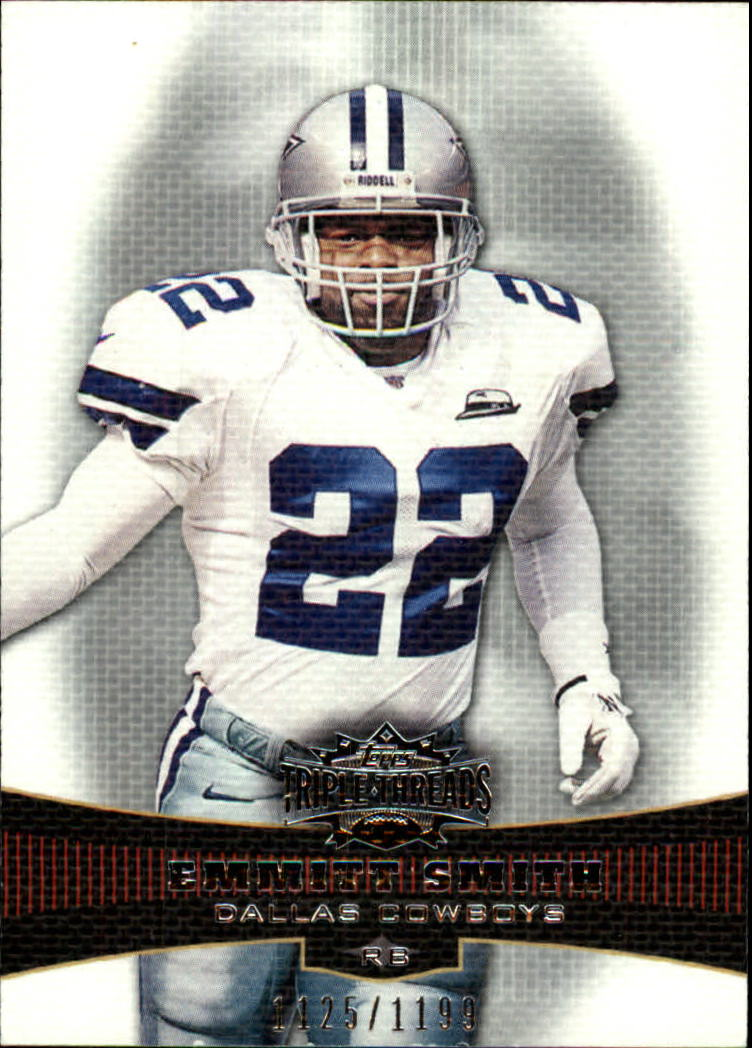 2006 Topps Triple Threads #10 Emmitt Smith