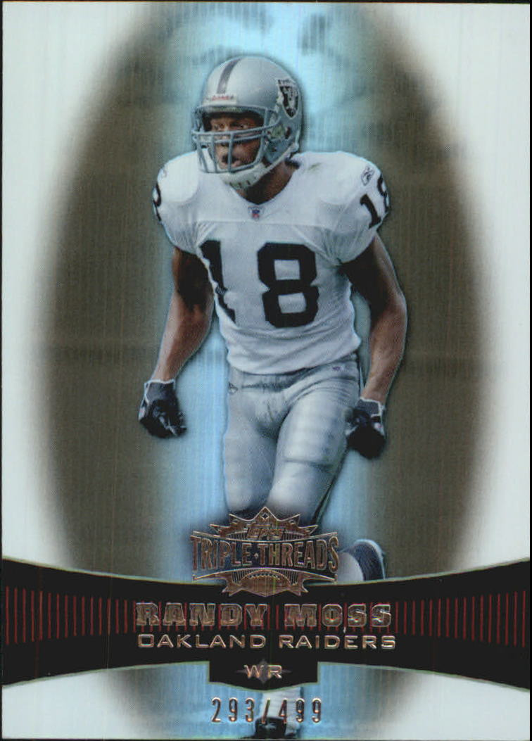 2006 Topps Triple Threads Sepia #3 Randy Moss