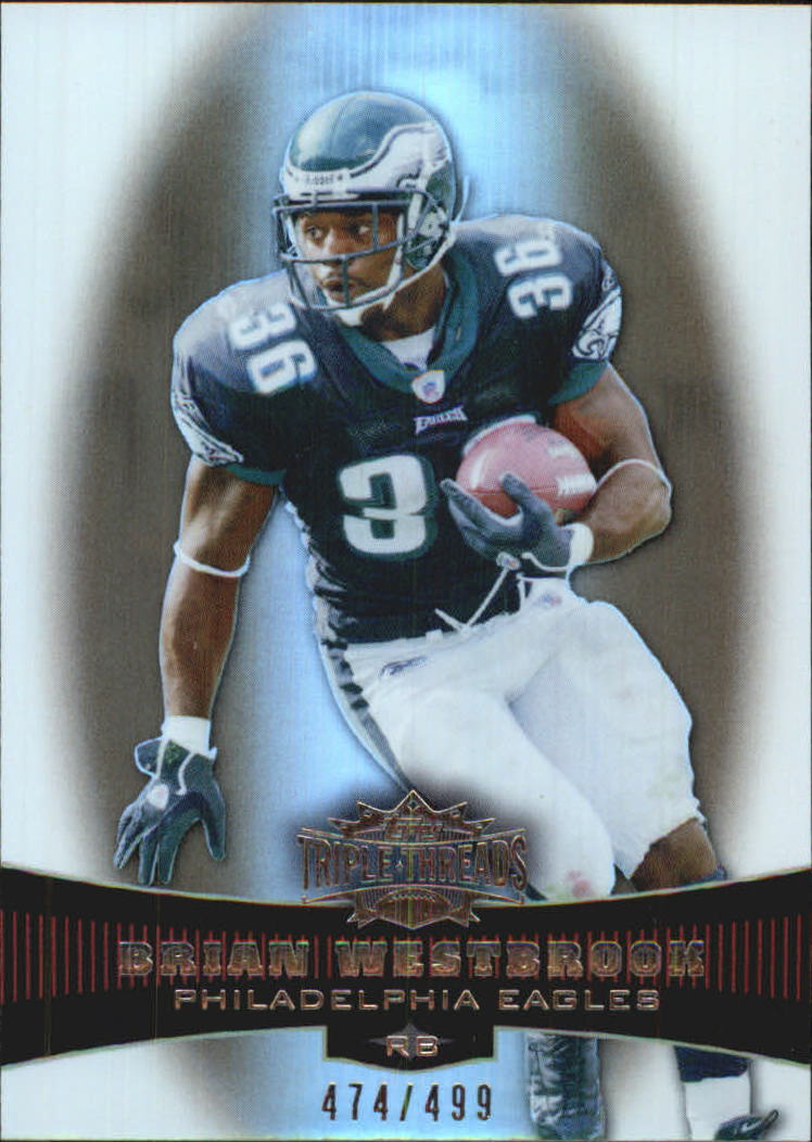 2006 Topps Triple Threads Sepia #7 Brian Westbrook