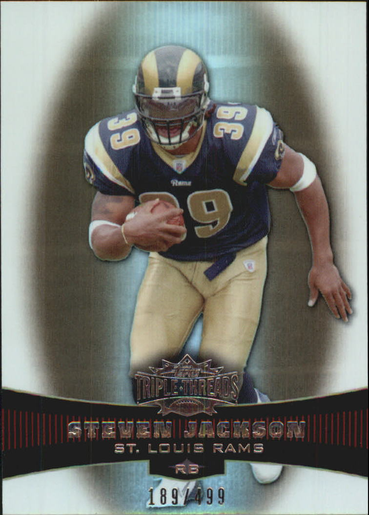 2006 Topps Triple Threads Sepia #9 Steven Jackson