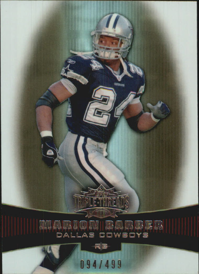 2006 Topps Triple Threads Sepia #41 Marion Barber