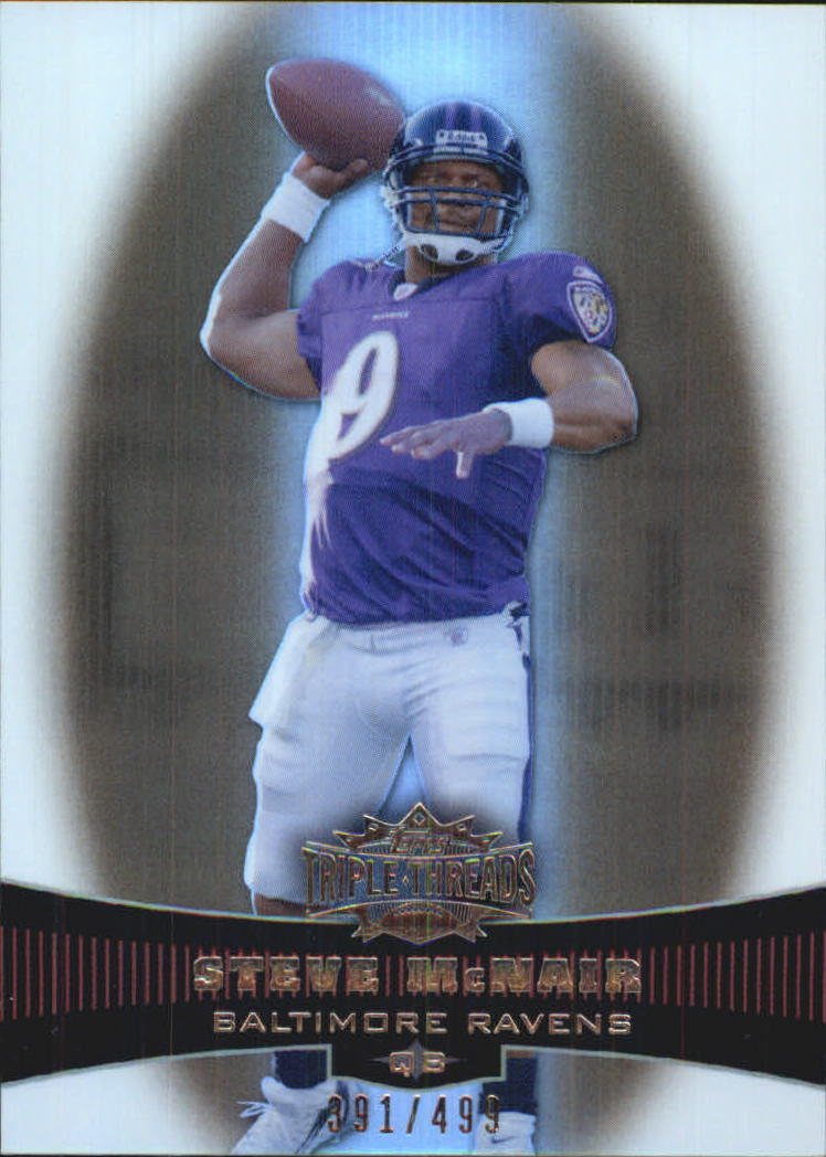 2006 Topps Triple Threads Sepia #58 Steve McNair
