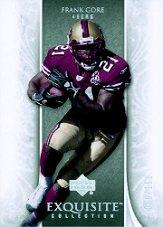 2006 Exquisite Collection #52 Frank Gore