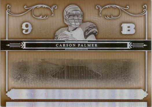 2006 Playoff National Treasures #74 Carson Palmer