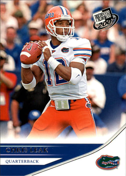 2007 Press Pass #1 Chris Leak