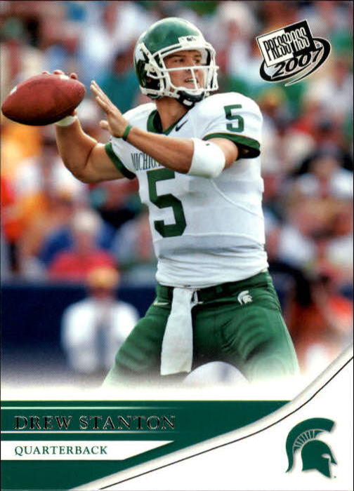 2007 Press Pass #5 Drew Stanton