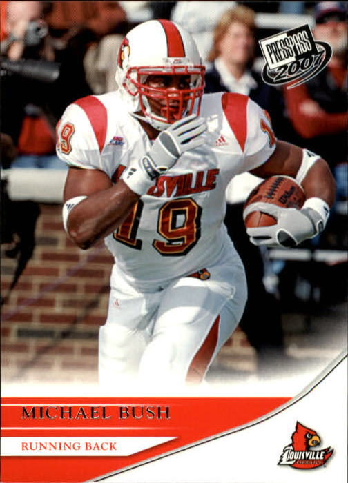 2007 Press Pass #6 Michael Bush