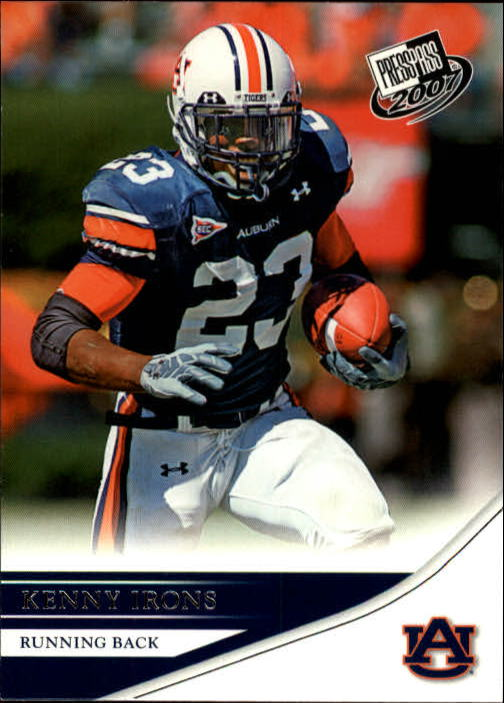 2007 Press Pass #8 Kenny Irons