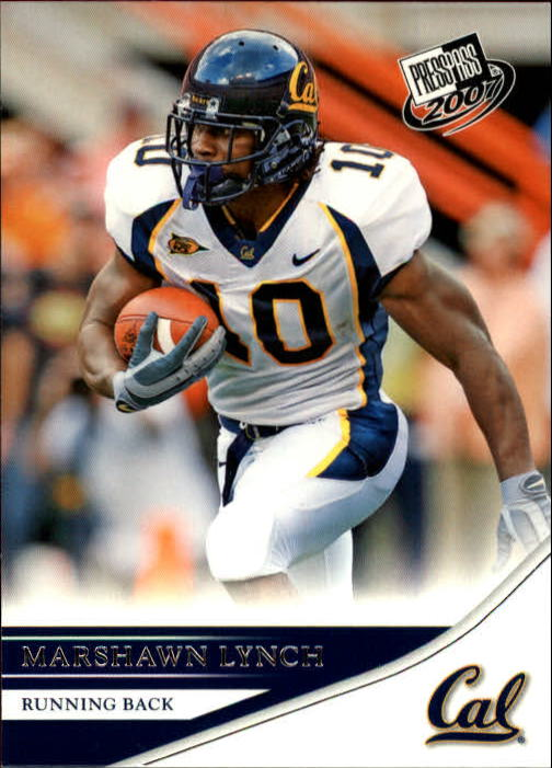 2007 Press Pass #10 Marshawn Lynch