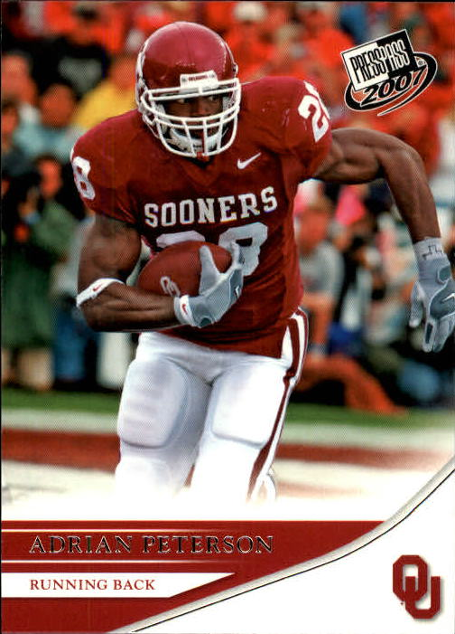2007 Press Pass #11 Adrian Peterson