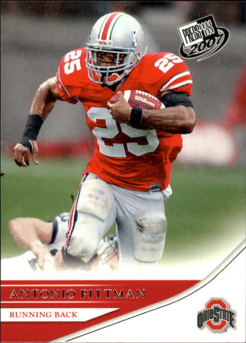 2007 Press Pass #12 Antonio Pittman