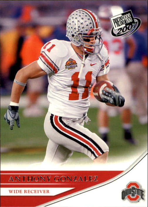 2007 Press Pass #16 Anthony Gonzalez