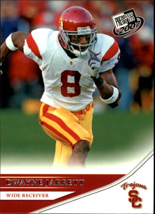 2007 Press Pass #17 Dwayne Jarrett