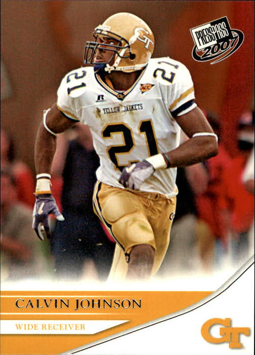 2007 Press Pass #18 Calvin Johnson