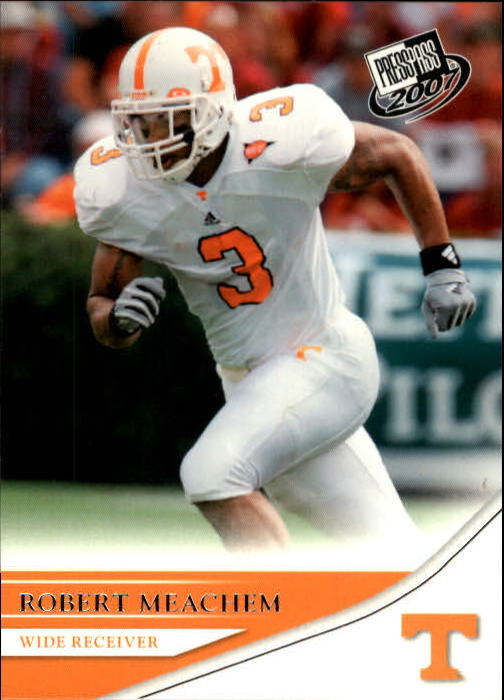 2007 Press Pass #19 Robert Meachem