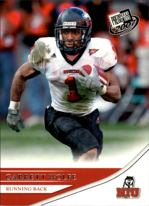 2007 Press Pass #21 Garrett Wolfe