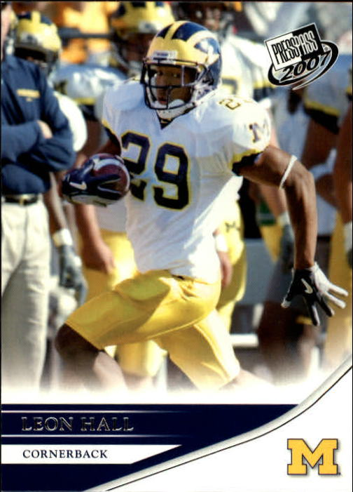 2007 Press Pass #22 Leon Hall