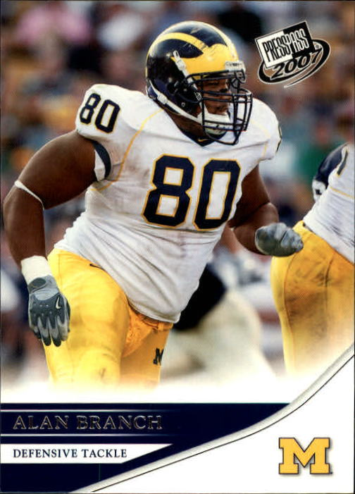 2007 Press Pass #25 Alan Branch