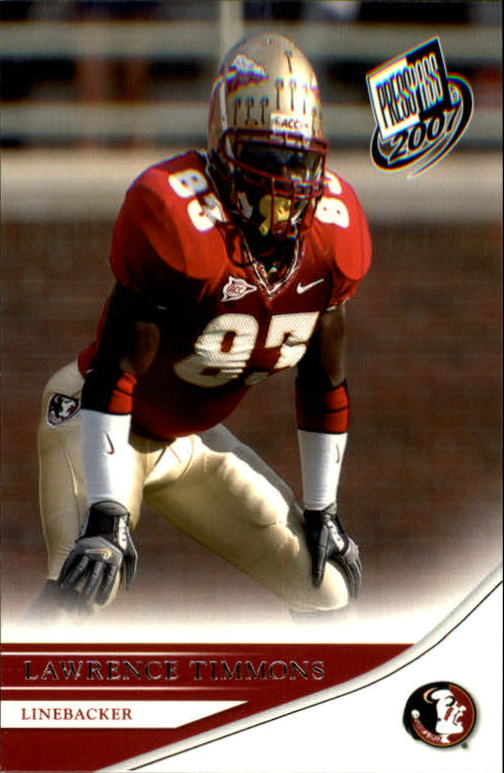2007 Press Pass #28 Lawrence Timmons