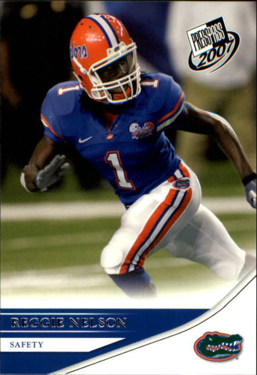 2007 Press Pass #30 Reggie Nelson