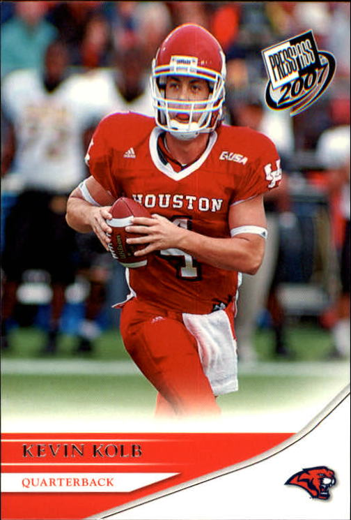 2007 Press Pass #33 Kevin Kolb