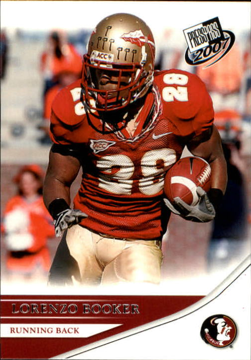 2007 Press Pass #35 Lorenzo Booker
