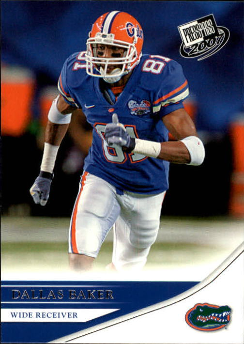 2007 Press Pass #42 Dallas Baker