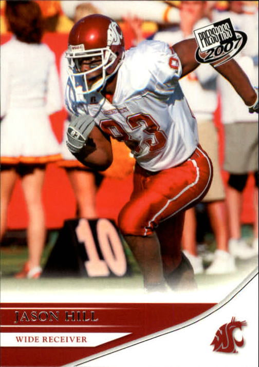 2007 Press Pass #43 Jason Hill