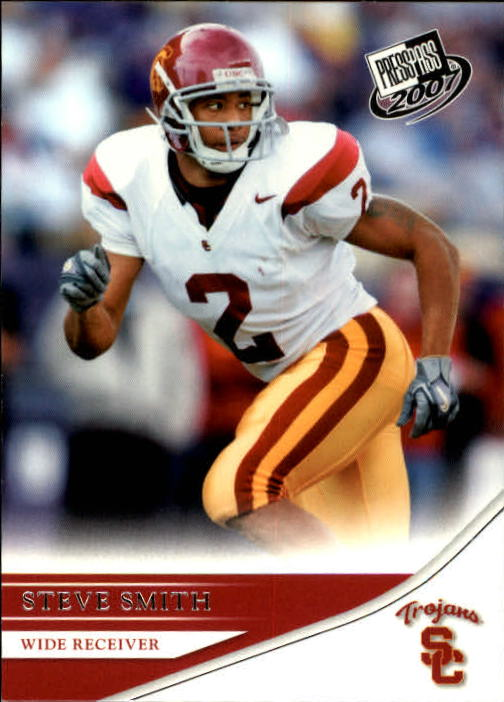 2007 Press Pass #44 Steve Smith USC